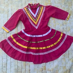 Handmade Mexico Dress Size 4/5T